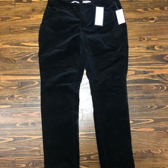 Charter Club Denim - NWT Charter Club black velvet skinny jeans